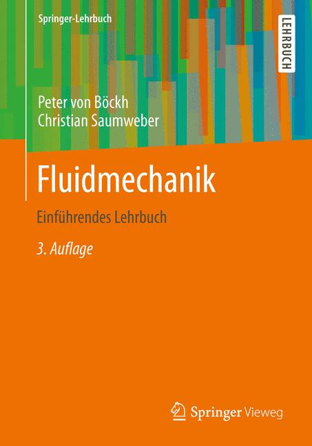 Cover of 'Fluidmechanik'