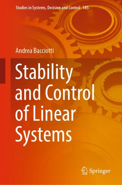 Cover of 'Stability and Control of Linear Systems'