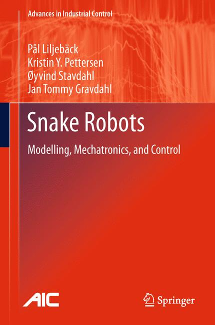 Cover of 'Snake Robots'