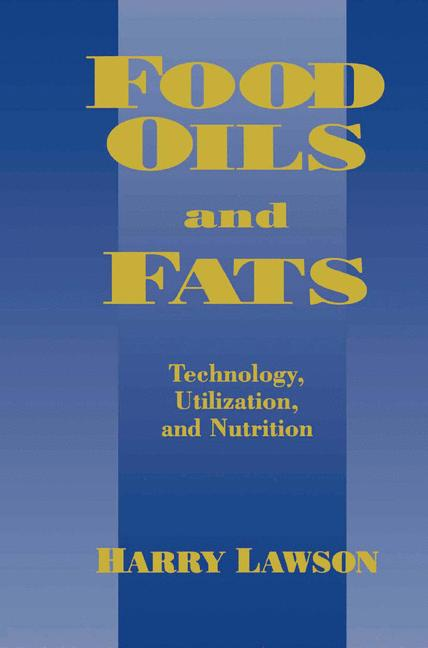 Cover of 'Food Oils and Fats'
