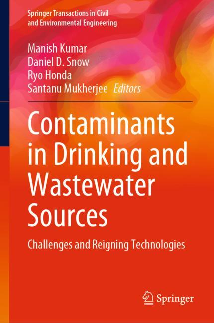 Cover of 'Contaminants in Drinking and Wastewater Sources'