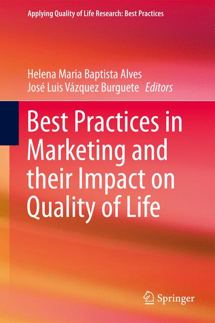 Cover of 'Best Practices in Marketing and their Impact on Quality of Life'