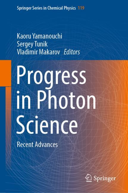 Cover of 'Progress in Photon Science'