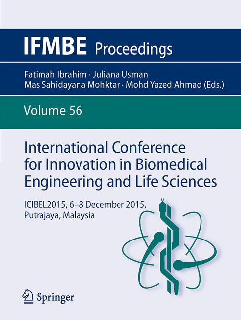 Cover of 'International Conference for Innovation in Biomedical Engineering and Life Sciences'