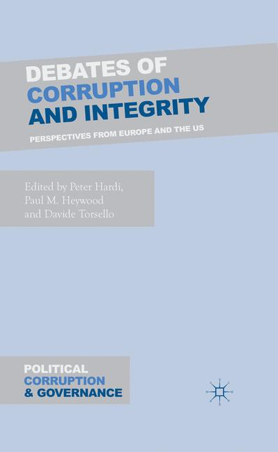 Cover of 'Debates of Corruption and Integrity'