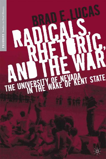 Cover of 'Radicals, Rhetoric, and the War'