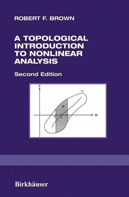Cover of 'A Topological Introduction to Nonlinear Analysis'