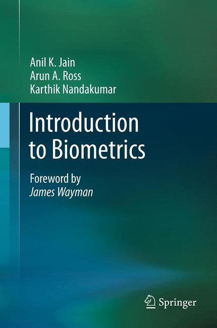 Cover of 'Introduction to Biometrics'