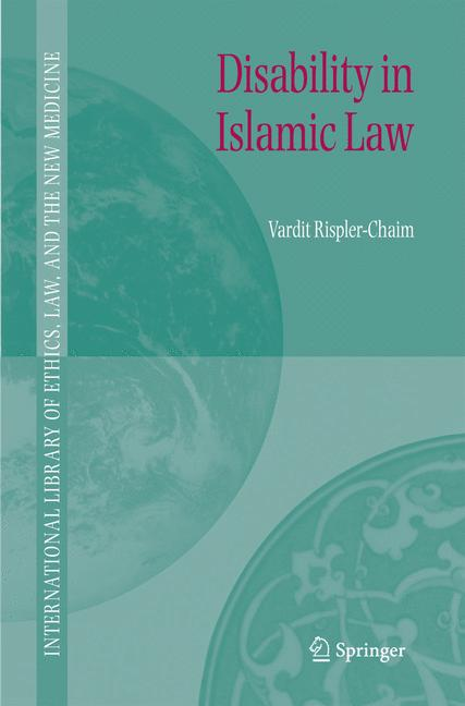 Cover of 'Disability in Islamic law'
