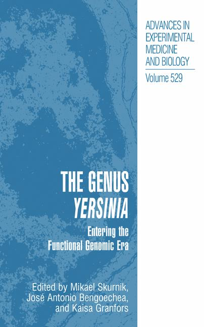 Cover of 'The Genus Yersinia'