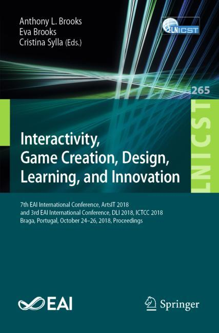 Cover of 'Interactivity, Game Creation, Design, Learning, and Innovation'