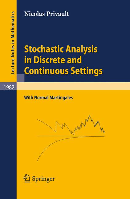 Cover of 'Stochastic Analysis in Discrete and Continuous Settings'
