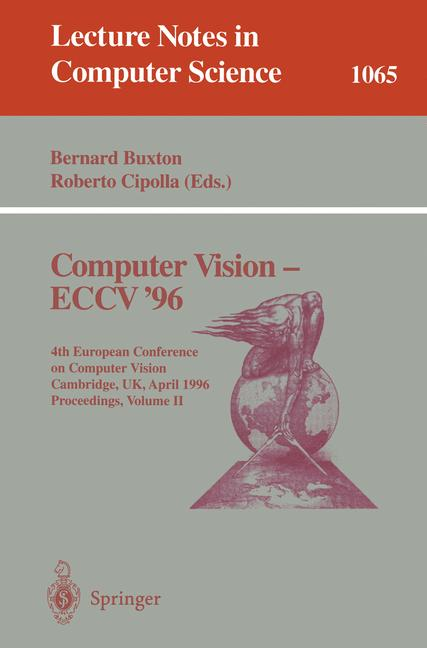 Cover of 'Computer Vision — ECCV '96'