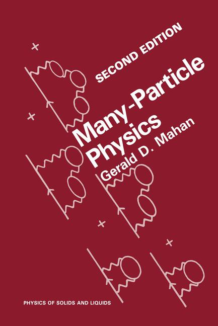 Cover of 'Many-Particle Physics'