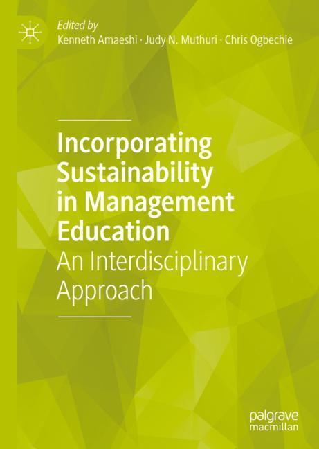 Cover of 'Incorporating Sustainability in Management Education'