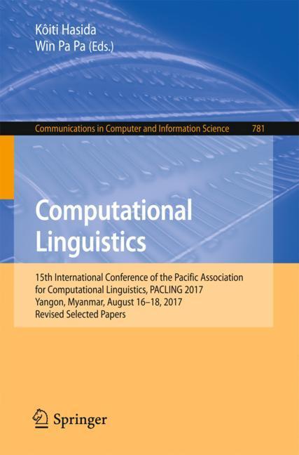 Cover of 'Computational Linguistics'