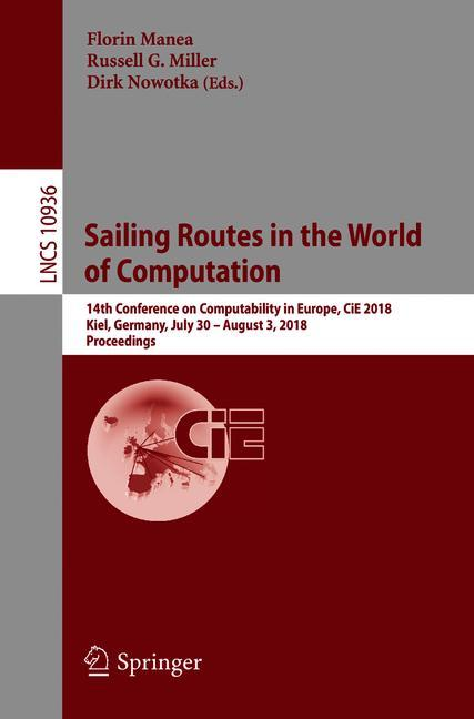 Cover of 'Sailing Routes in the World of Computation'