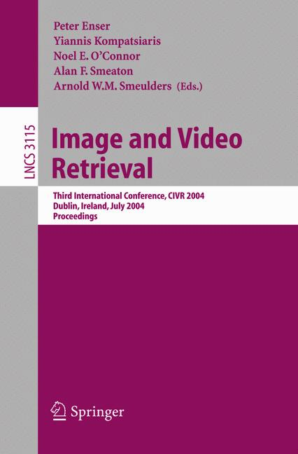Cover of 'Image and Video Retrieval'