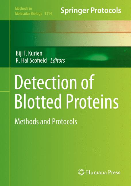 Cover of 'Detection of Blotted Proteins'