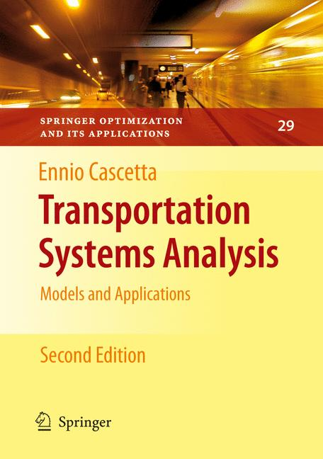 Cover of 'Transportation Systems Analysis'