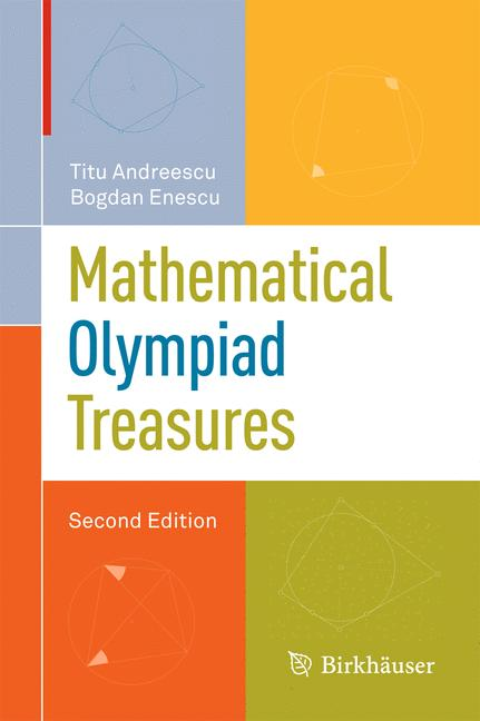 Cover of 'Mathematical olympiad treasures'
