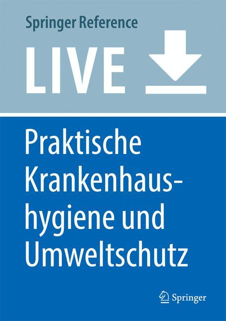 Cover of 'Praktische Krankenhaushygiene und Umweltschutz'