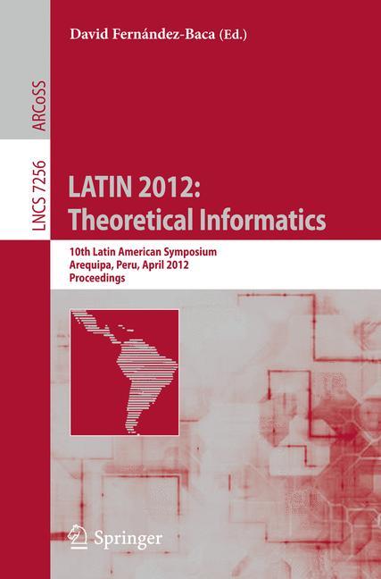 Cover of 'LATIN 2012: Theoretical Informatics'