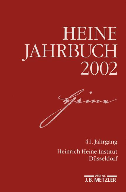 Cover of 'Heine-Jahrbuch 2002'