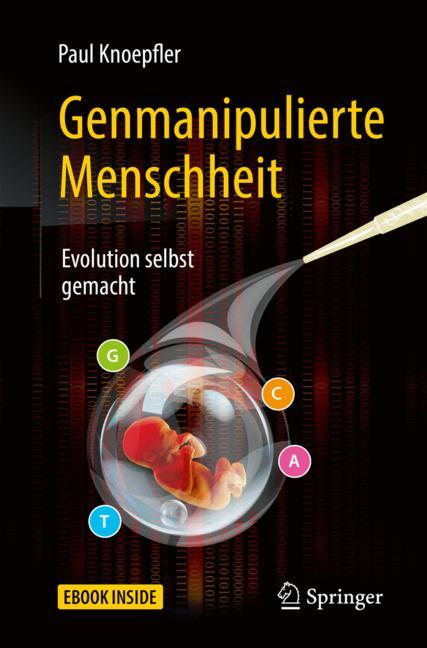 Cover of 'Genmanipulierte Menschheit'