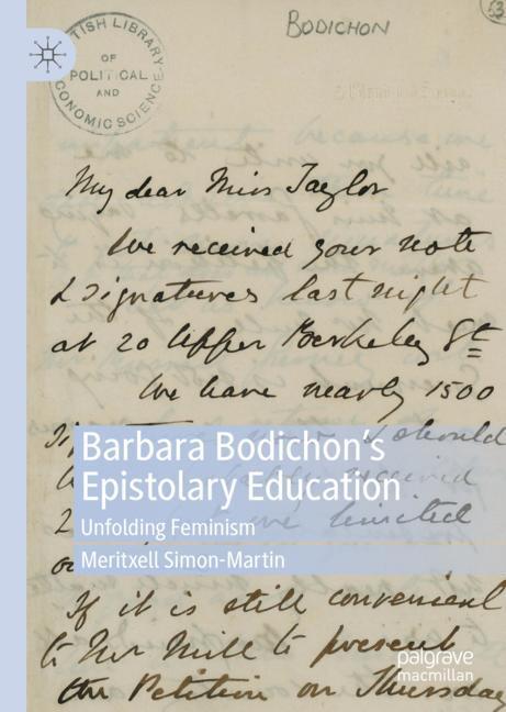 Cover of 'Barbara Bodichon's Epistolary Education'
