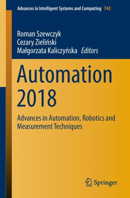 Cover of 'Automation 2018'