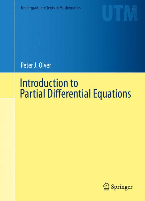 Cover of 'Introduction to Partial Differential Equations'