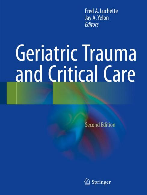 Cover of 'Geriatric Trauma and Critical Care'