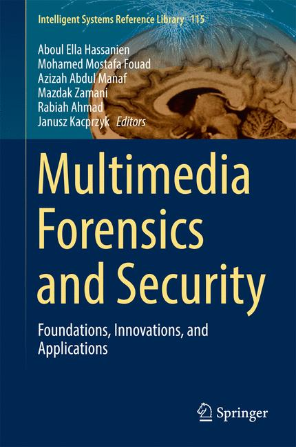 Cover of 'Multimedia Forensics and Security'