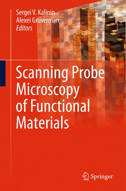 Cover of 'Scanning Probe Microscopy of Functional Materials'