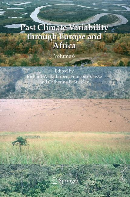 Cover of 'Past Climate Variability through Europe and Africa'