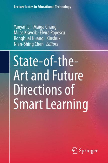 Cover of 'State-of-the-Art and Future Directions of Smart Learning'