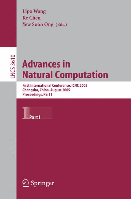 Cover of 'Advances in Natural Computation'