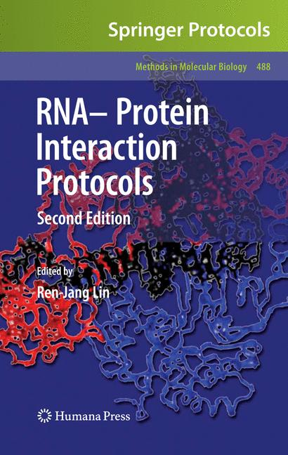 Cover of 'RNA-Protein Interaction Protocols'