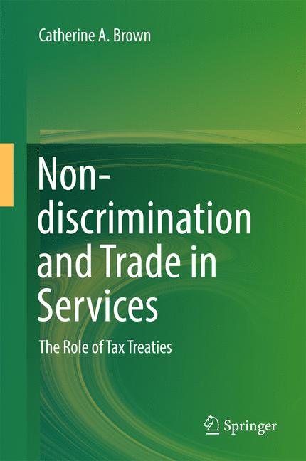 Cover of 'Non-discrimination and Trade in Services'