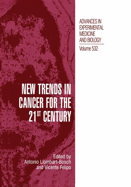 Cover of 'New Trends in Cancer for the 21st Century'