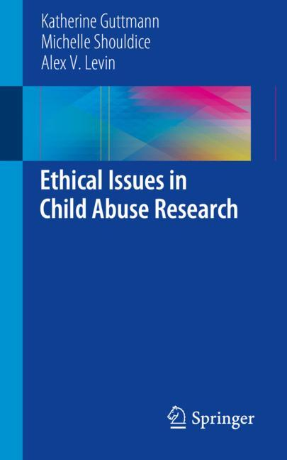 Cover of 'Ethical Issues in Child Abuse Research'