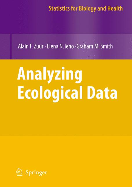 Cover of 'Analysing Ecological Data'