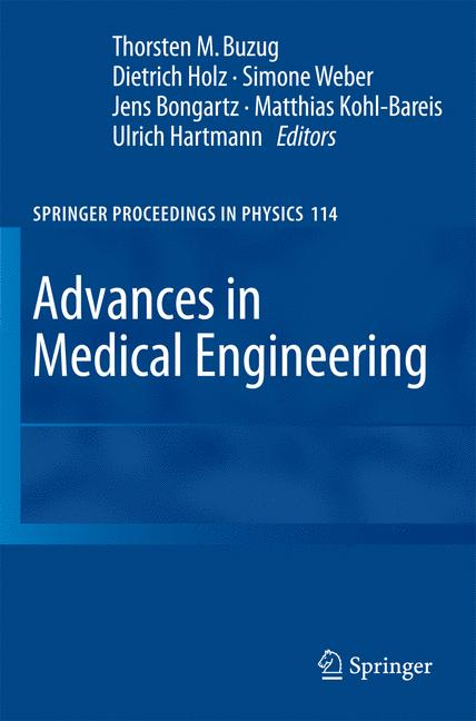 Cover of 'Advances in Medical Engineering'