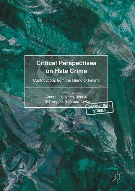 Cover of 'Critical Perspectives on Hate Crime'