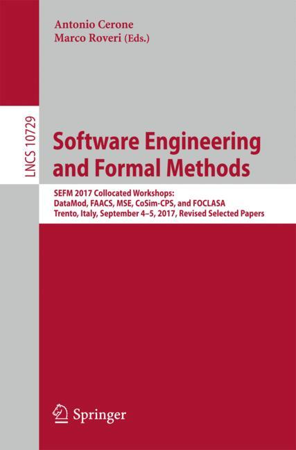 Cover of 'Software Engineering and Formal Methods'