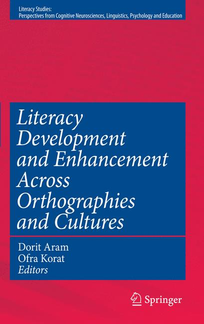 Cover of 'Literacy Development and Enhancement Across Orthographies and Cultures'