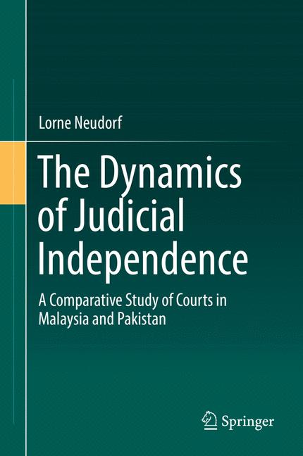Cover of 'The Dynamics of Judicial Independence'