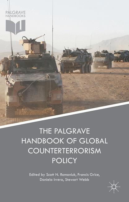 Cover of 'The Palgrave Handbook of Global Counterterrorism Policy'