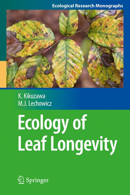 Cover of 'Ecology of Leaf Longevity'